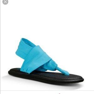 Sanuk Aqua sling yoga mat sandals Sz 7